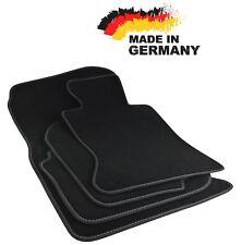 Premium Fußmatten BMW E90 E91 SCHWARZ Hochwertig Velours Anthrazit Original