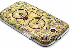 for Samsung galaxy s3 hard case cover bicycle green ish gray cool S III