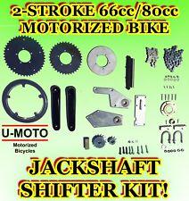 2-STROKE 66cc/80cc MOTORIZED BIKE JACKSHAFT KIT/SHIFTER KIT FOR BICYCLES