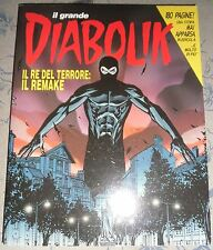 Grande DIABOLIK il Re Del Terrore Remake - Castelli & Palumbo Fumetti Neri NUOVO