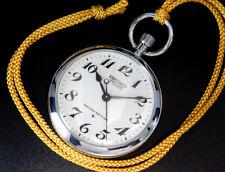 Serviced Seiko Precision Japan Railway 1975 Vintage Hand-Winding Pocket Watch