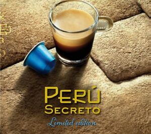 Nespresso PERU SECRETO Capsules Limited Ed Coffee Espresso ORIGINAL OL Pods Int8