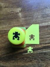 NEW Leap Frog Amphibian Toad Craft Punch Card RARE tested