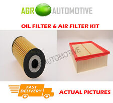 DIESEL SERVICE KIT OIL AIR FILTER FOR AUDI A4 2.0 140 BHP 2006-09