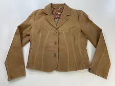 WILSON LEATHER Women's Soft Leather Jacket Coat Blazer Sz LG Fast Shipping 🚀