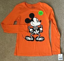 Disney Halloween L/S Tee For Girls In Size L/10-12 NWT