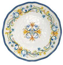 Le Cadeaux Floral Harvest Melamine Salad Plate Set of 4