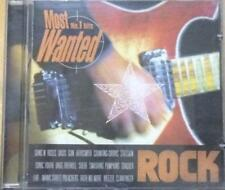 MOST NO.1 HITS WANTED ROCK ORIGINAL VARIOUS ARTISTS CD ALBUM