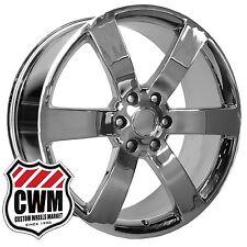 "22x9"" OE Performance 165C Chevy Trailblazer SS Wheels Rims Chrome fit GMC Envoy"