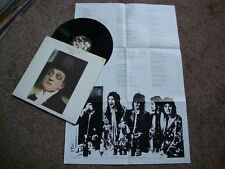 FACES OOH LA LA UK Warner Bro's 1st PRESS 1973 POSTER & GIMMICK SLEEVE Near Mint