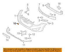 HYUNDAI OEM 10-15 Tucson Front Bumper-Tow Hook Eye Cap Cover 865172S000