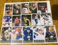 2020-21 TIM HORTONS NHL CANVAS FULL SET C1-C15 CROSBY MCDAVID MATTHEWS