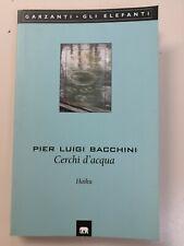 Pier Luigi Bacchini - CERCHI D'ACQUA Haiku (raro, prima edizione, 2003)