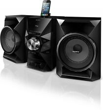 Sony MHC-EC619iP Music System with Bass Boost, iPhone 5 Dock and Remote