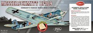 "GUILLOWS 1/16 24-3/8"" Wingspan BF109 Laser Cut Kit GUI401"