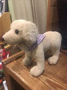 American Girl Doll Kailey Pet Dog Sandy Golden Retriever Plush Retired Puppy