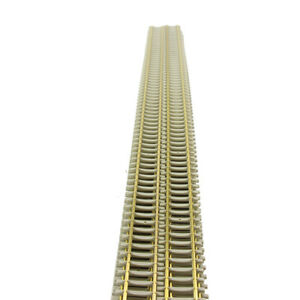 1pc/2pcs/5pcs Model Train 1:87 Flexible Track 50cm Brass HO Scale Flex Railtrack