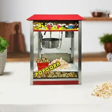More details for misterchef® electric commercial cinema party popcorn machine fresh hot popcorn