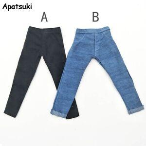 """Handmade Jeans Trousers For Ken Boy Doll Long Pants For 11.5""""'s Boyfriend Ken"""
