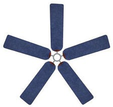 Ceiling Fan Blade FABRIC Covers DENIM home/office teen dorm decor 5 pcs western