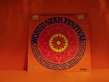 WORLD STAR FESTIVAL - VARIOUS ARTISTS - AUSTRIA ISSUE LP VINYL RECORD -N