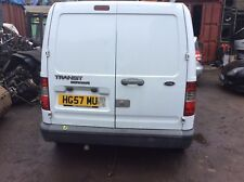 FORD TRANSIT CONNECT  REAR DOORS O/S N/S FROZEN WHITE  2007