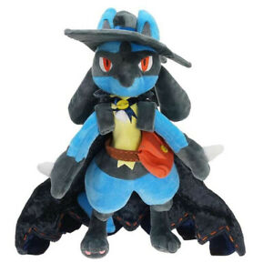 "New 30cm 12"" Halloween Lucario Plush Animation Toy Soft Doll Stuffed Plush Doll"