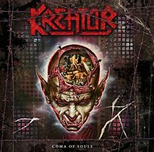 KREATOR - COMA OF SOULS (REMASTERED) RED VINYL 3 VINYL LP NEUF