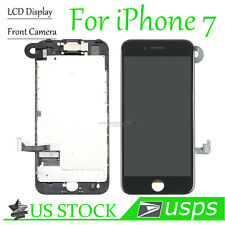 For Apple iPhone 7 Display LCD Touch Screen Digitizer Replacement Camera Black