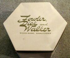 Hat Box from Fowler, Dick & Walker: The Boston Store Wilkes-Barre Pa. Free Ship