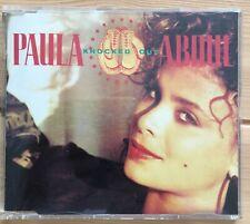 PAULA ABDUL KNOCKED OUT CD MAXI SINGLE UK 4 TRACKS