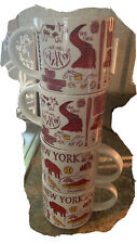 New, STARBUCKS NYC NEW YORK CITY MUG BEEN THERE SERIES SOUVENIR CUPS. Set Of 4