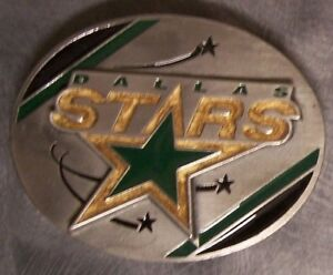 NHL Pewter Belt Buckle Dallas Stars NEW Siskiyou National Hockey League