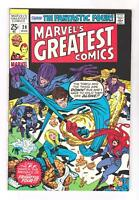 MARVEL'S GREATEST COMICS 28 (VF-)FANTASTIC FOUR, STAN LEE, KIRBY (SHIPS FREE)  *