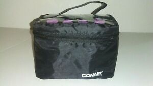 Conair Instant Heat Compact Hot Pink Rollers w/Ceramic Techology; Black Case