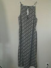 The Limited Black and White Maxi Sundress with 1 side slit - Size XXL NWT