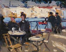 A Cafe Scene James Morrice 24'  CANVAS