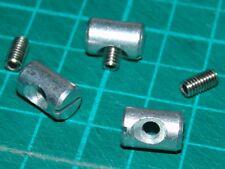 3 bis 27 Stück Stopper-Stein-Sets für Kederleiste; Vorzelt, Wohnwagen; M4x8