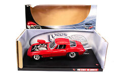 HOT WHEELS Pro Street '66 Corvette Rennauto Auto 1:18 DIE CAST Racing Car 29226