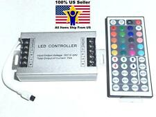 12V-24V DC 75A 900W 44Key IR Remote Controller For RGB LED Strip 5050 3528 SMD