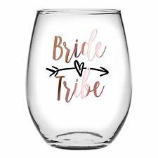DIY BRIDE TRIBE Glass Sticker/Decal, wedding/bridal party hens