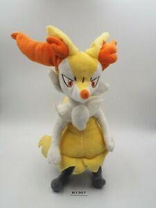 "Rare Braixen B1307 Pokemon Center Original OA 2014 Plush 9"" Toy Doll Japan"