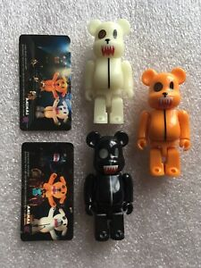 Busters Bearbrick Series 15 Be@rbrick 100% Glow In The Dark Medicom Toy Chase
