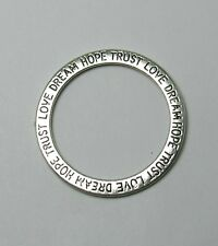 Trust Love Dream Hope 35mm Pendant Necklace/Bracelet Charm - Lot of 5
