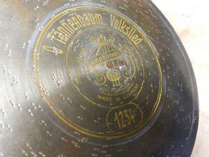 Symphonion Blech Platte 24 cm O Tannebaum  Nr.1254 Spieldose 1900 Weihnachtslied
