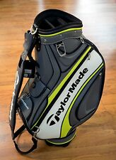 "2017 TaylorMade Golf PGA Tour Day Johnson 9.5"" Top Staff Bag w/ Hood NEW"