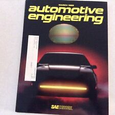 Automotive Engineering Magazine Cathode Ray Tube March 1989 061417nonrh2