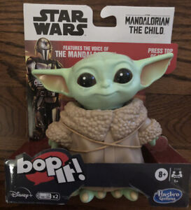 Star Wars Mandalorian The Child Edition Bop It! Game Ages 8+ Baby Yoda New