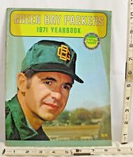 NFL FOOTBALL 1971 GREEN BAY PACKERS YEAR BOOK