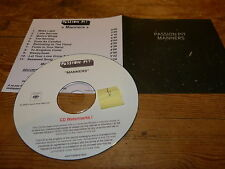PASSION PIT - MANNERS !!! !!!! FRENCH PROMO CD !!!!!!!!!!!